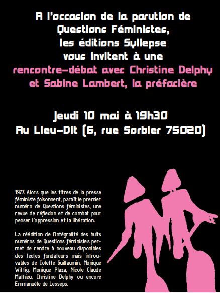 rencontres féministes evry 2012