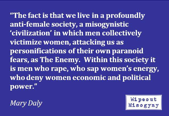 Mary Daly, The Enemy