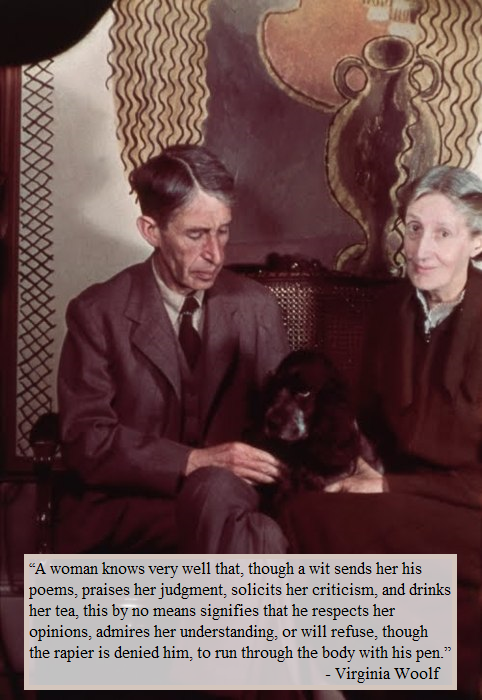 Virginia Woolf & boulet