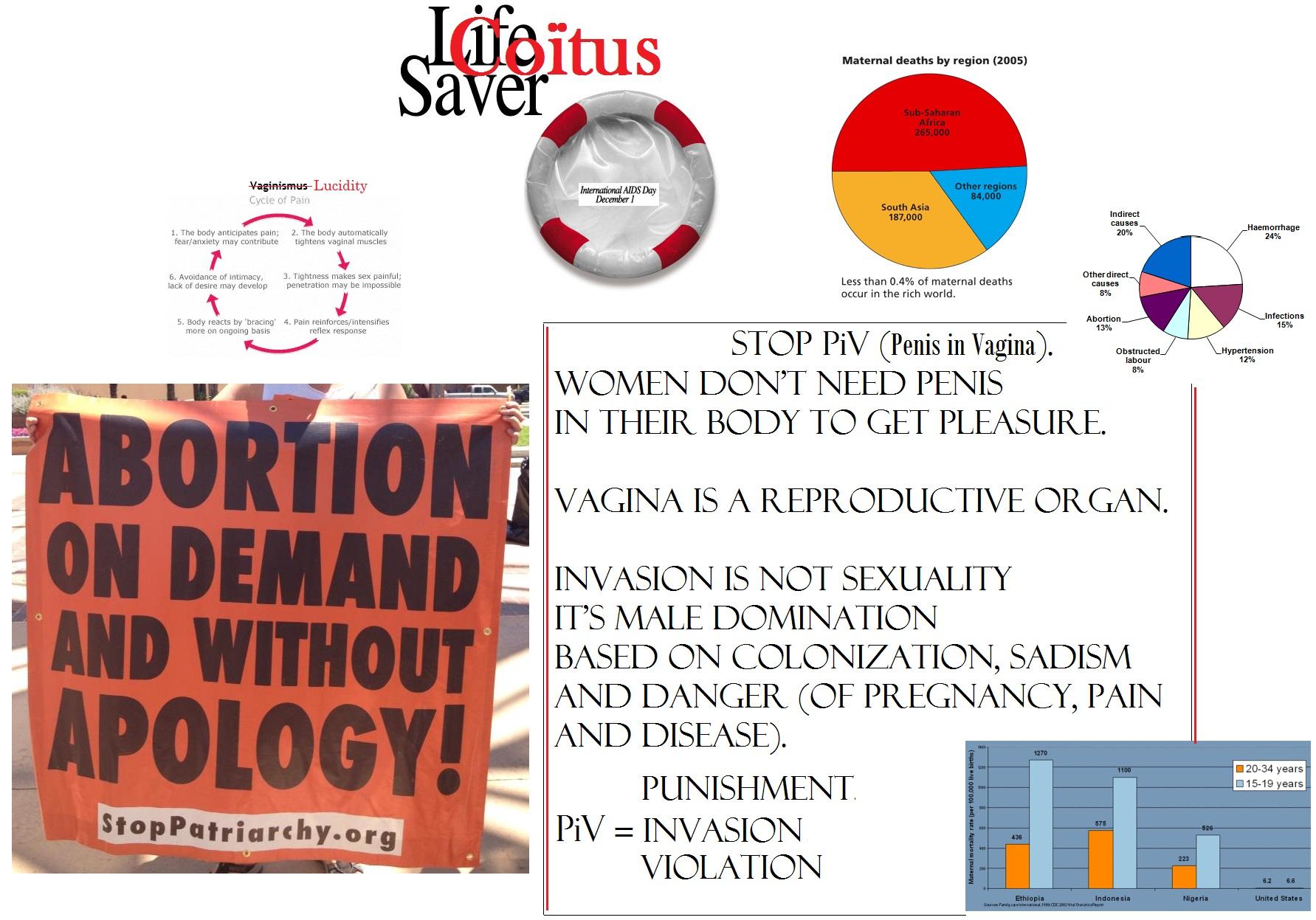 abortion is part of male rape politics